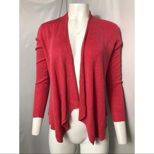 Eileen Fisher 100% Linen Open Front Cardigan Small